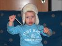Il nostro piccolo principe ama travestirsi!